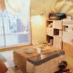 和室をリフォームなしで安く洋風インテリアに!カーテン・ソファー・机をアレンジする方法