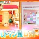 ヒロミが横澤夏子の部屋をDIY!八王子リフォームでパリのアパルトマン風【有吉ゼミ】