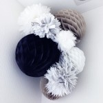 ペーパーポンポンの簡単で魅力的な飾り方&作り方の紹介!