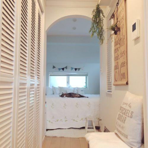 ・例2)寝室もブルー系で落ち着く雰囲気に・・・