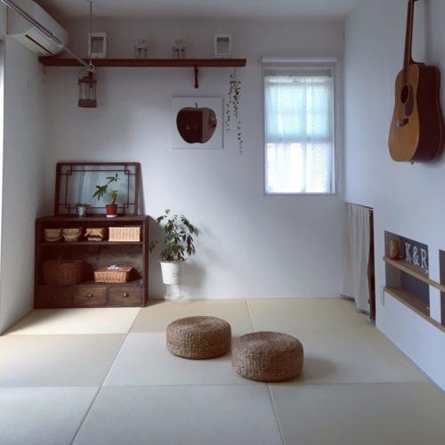和の建具が印象的なシンプルな美しい和室