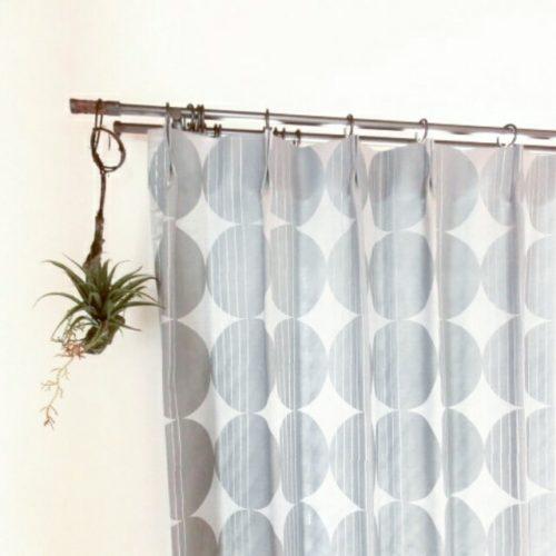 ニトリのカーテンのインテリア実例