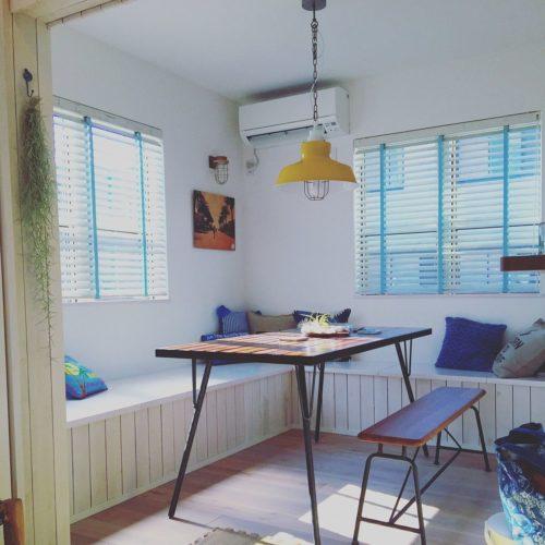 女性で、3LDK、家族住まいの西海岸/照明/観葉植物/IKEA/カリフォルニアスタイル/サーファーズハウス…などについてのインテリア実例を紹介。