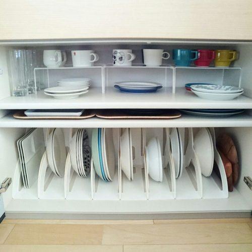見せる収納・キッチンのインテリア実例