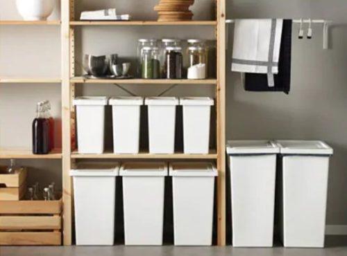 おしゃれなキッチン用ゴミ箱