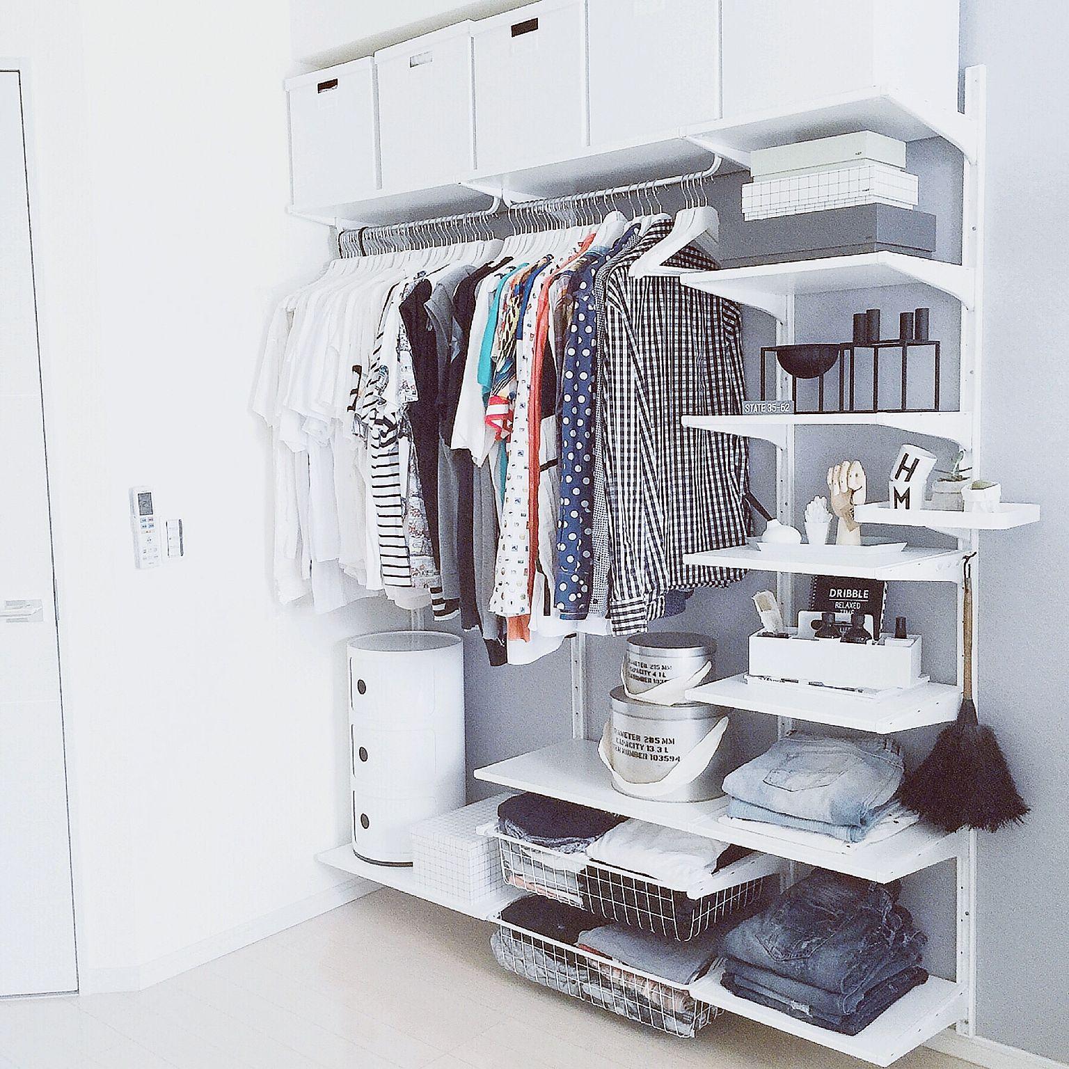 洋服収納の実例5例!使いやすいたたみ方やアイデアは? | luv interior
