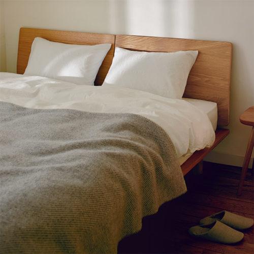 無印良品のベッドの実例4例!評判のベッドやベッドパッド・ベッドカバーはどれ?