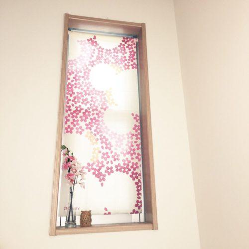 女性で、のシンデレラフィット/てぬぐい/さくら/ディスプレイ/和室/ピンク…などについてのインテリア実例を紹介。