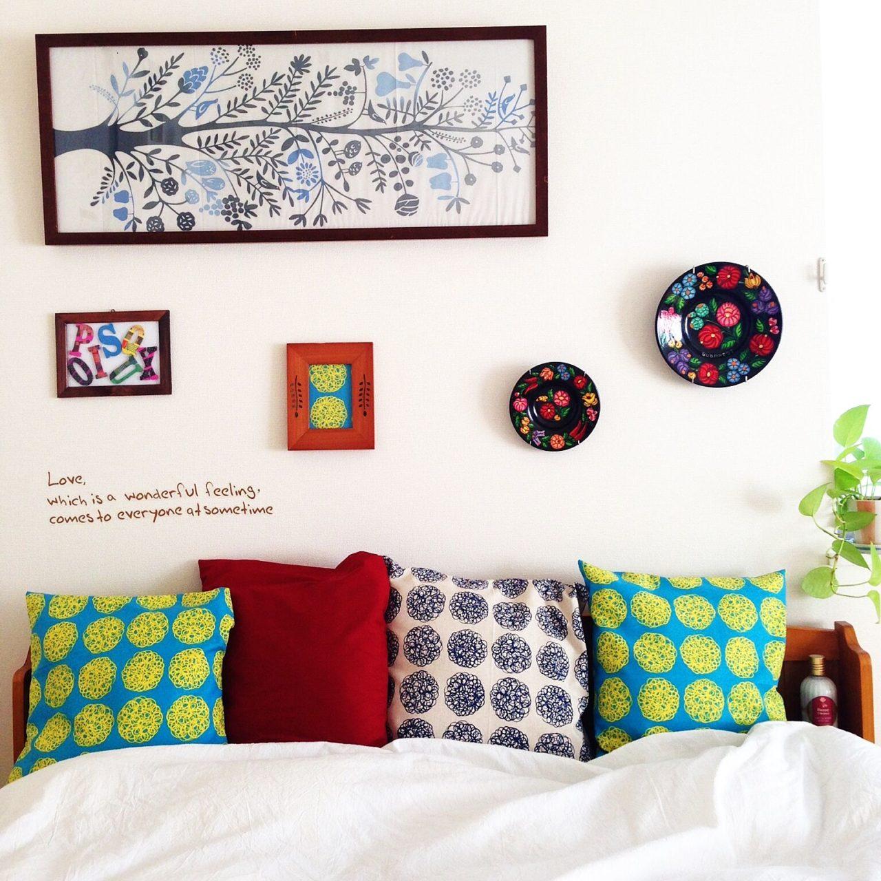 季節や部屋の雰囲気などに合わせて選んでもいいですし、部屋のイメージチェンジにも使えますので手ぬぐいをいろいろ掛けて楽しんでみませんか?