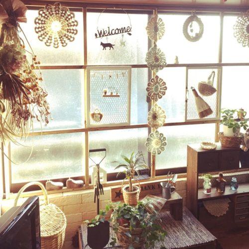 女性で、Otherの窓枠DIY/リビングについてのインテリア実例を紹介。