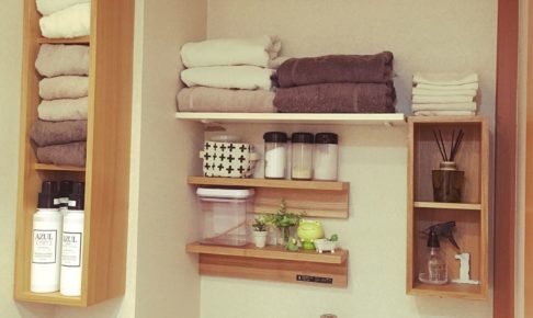 洗面所のおしゃれな収納アイデア