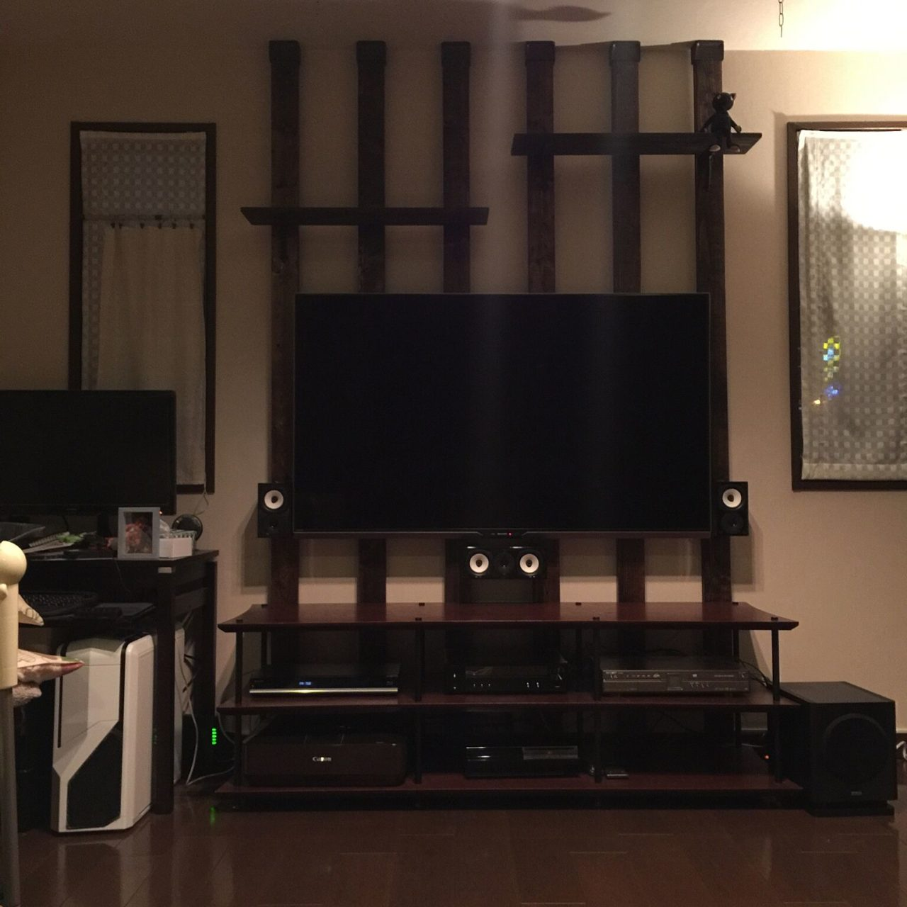 ディアウォールでテレビ台や棚をDIY