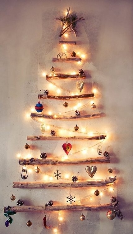 Or branches with lights.