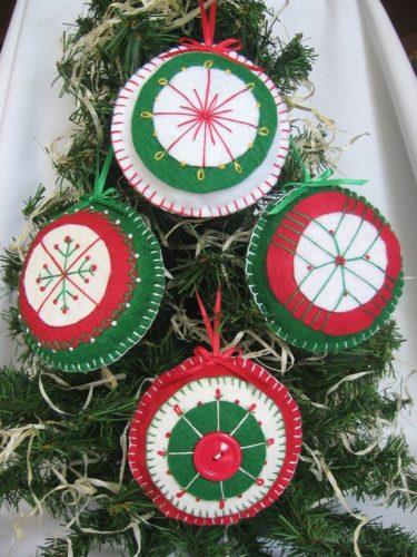 クリスマスのハンドメイドは簡単!雑貨や布・フェルトで温かいインテリアを♡