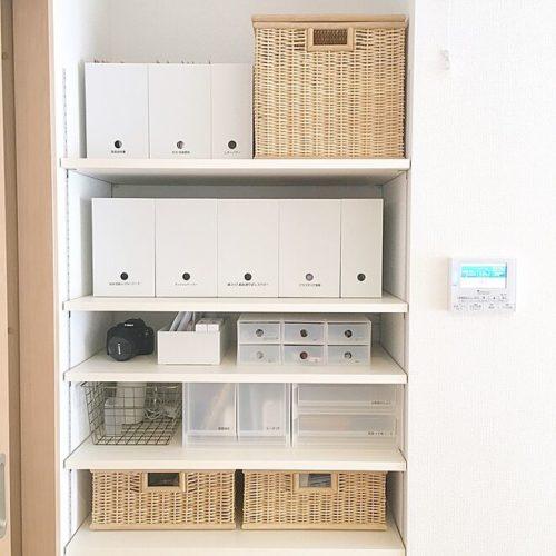 様々なスタイルのボックスを活用して機能的に収納