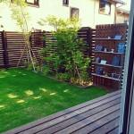 庭の目隠しフェンスをDIYする時の注意点や簡単な施工例は?