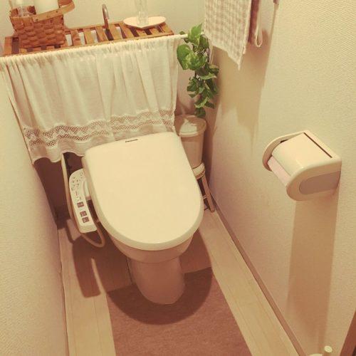 賃貸トイレのDIYアイデア
