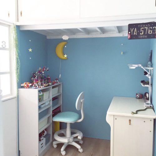 狭い子ども部屋のレイアウト実例!使えるアイデア紹介