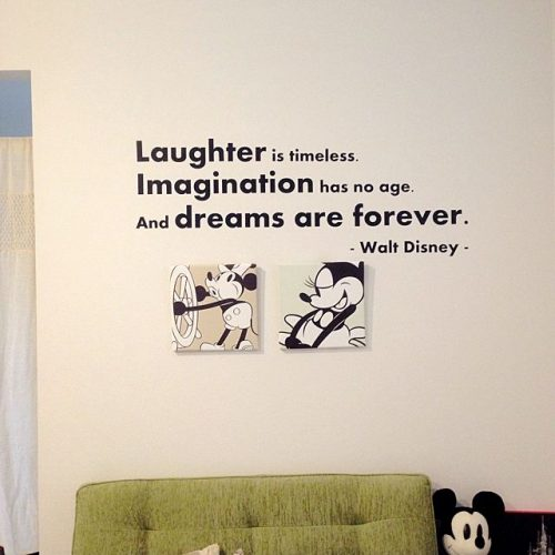 Disney like the interior of the room