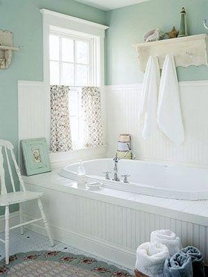 海外の優しい感じのお風呂