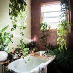 お風呂をグリーンで飾るインテリアが素敵!実例は?