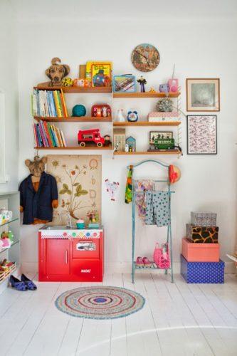 狭いリビングのおもちゃ収納アイデア