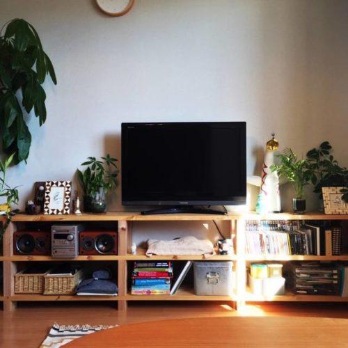 賃貸!ロングテレビボード