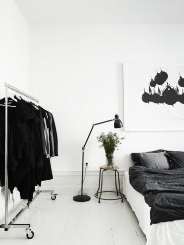 モノトーンインテリアの部屋23例!白黒雑貨や家具をモノクロでまとめた実例集