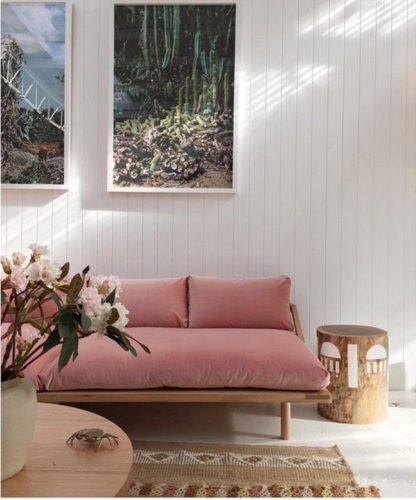 白い部屋のインテリア実例集♡灰色・茶・ピンクの差し色で印象が激変!