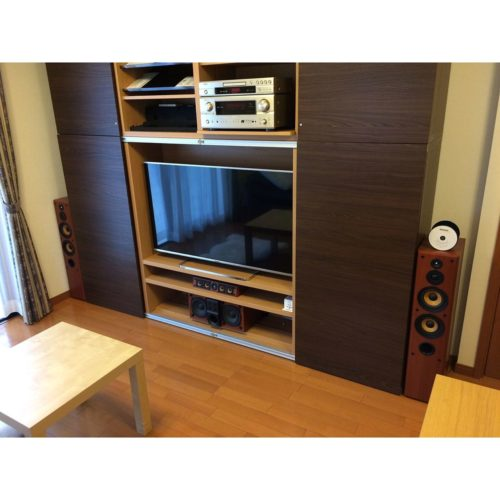 男性で、Otherのベストー/IKEA/テレビ/BESTA/壁面収納/DENON…などについてのインテリア実例を紹介。