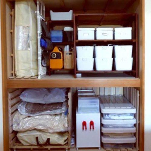 女性で、3LDKの100均/DIY/IKEA/雑貨/山善収納部/棚…などについてのインテリア実例を紹介。