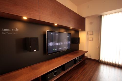 テレビ台などを置くことでリビングの中でも結構スペースを取るものです。