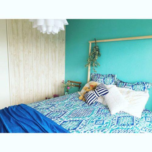 の照明/シャビーシック/ハワイアン/壁紙屋本舗/ザラホーム/ベッド…などについてのインテリア実例を紹介。