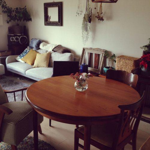 床と家具の組み合わせ方