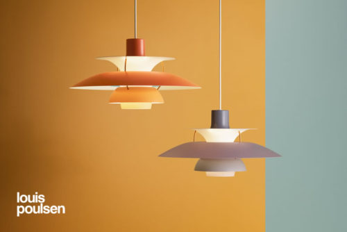 「ルイスポールセン社」の照明です。  北欧を代表する「ポール・ヘニングセン」による「PH5」