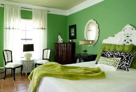 緑色インテリア部屋のコーディネートおしゃれな実例15例!