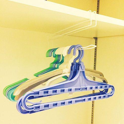 洗濯ハンガーの収納アイデア