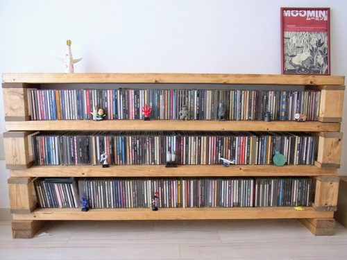 CD and I want to decorate! Shelves ideas storage