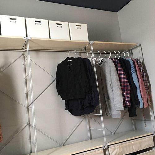 Clean look! Unbranded stainless steel unit shelf