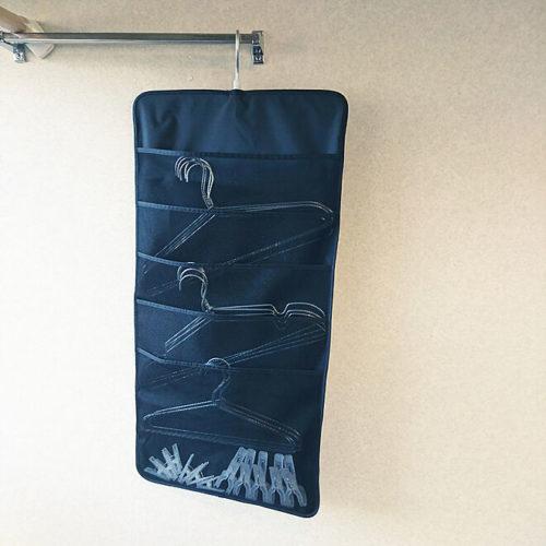 Hanging interior shirt pocket