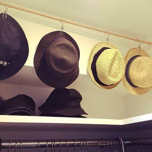 難しい帽子の収納はこれで解決!