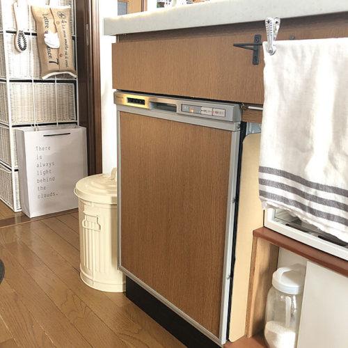 100均リメイクシートDIYアイデア食洗器