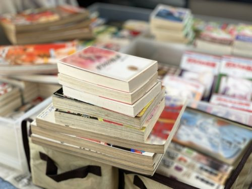 コミック本は保管用と普段遣い用に分ける