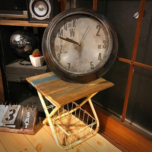 ダイソー掛け時計リメイクアイデア鉢皿