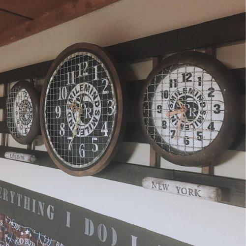 ダイソー掛け時計リメイクアイデア焼き網