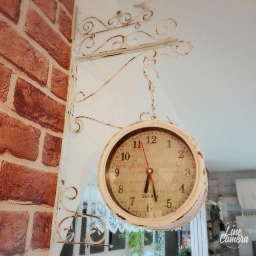 ダイソー掛け時計リメイクアイデア両面時計