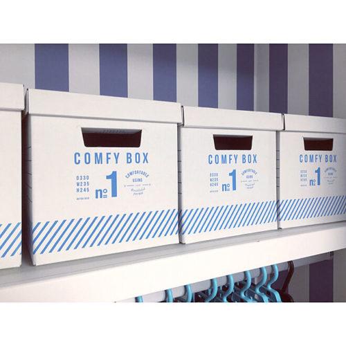 クローゼット収納グッズペーパーボックス