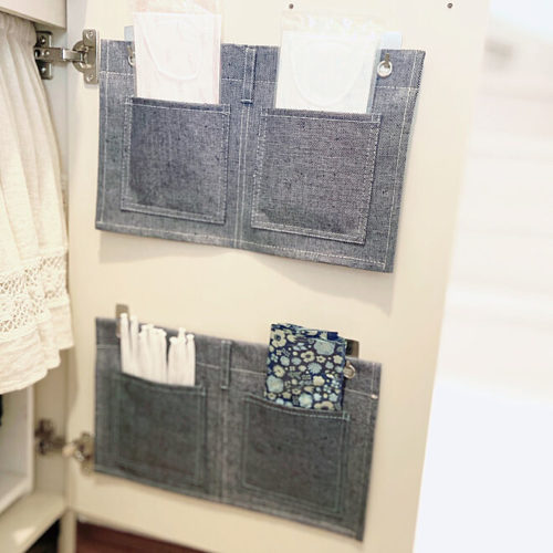 洗面台サニタリー整理ウォールポケット