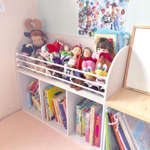 カラーボックス収納術アイデア子供部屋