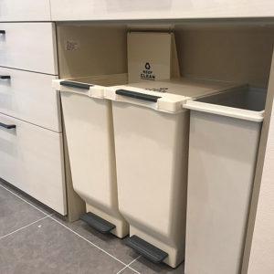 キッチンゴミ箱収納場所カウンター